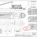 300men Accommodation Work Barge