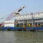 150 man Barge